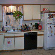 Meriden 02 kitchen view 01 - before