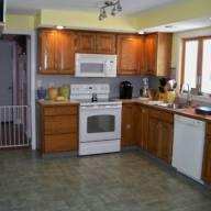 Cheshire 18 kitchen view 02 - before