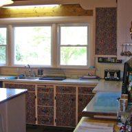Meriden 03 kitchen view 02 - before